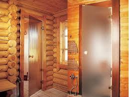 Стеклянные двери для бани — красота и эстетика!