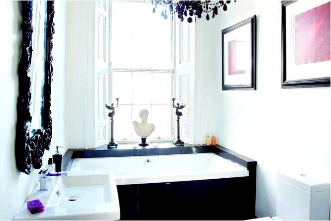 10 Идей декора ванной комнаты в классическом, ретро или гламурном стиле
