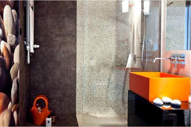 12 Идей для напольной плитки в ванной фото ванной комнаты