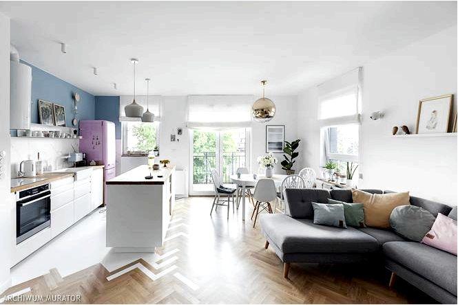 15X самая красивая современная гостиная с кухней
