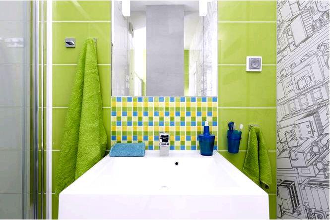 20 Фото санузлы цветное обустройство ванной комнаты