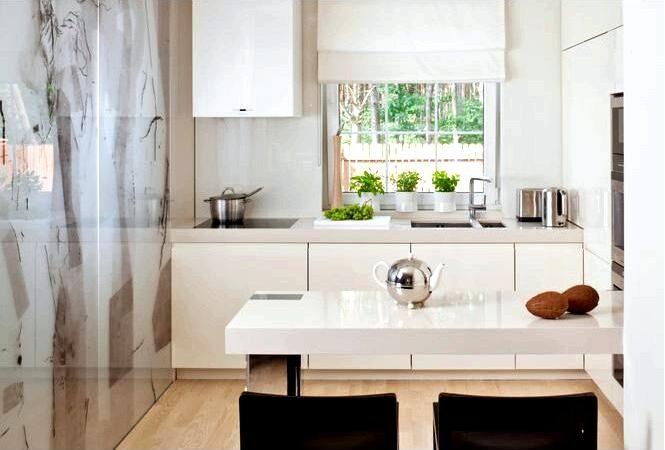 6 Советов как зрительно увеличить маленькую кухню плитка и цвета для маленькой кухни