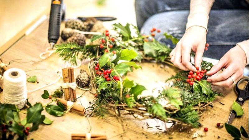 8 Идей для рождественских украшений дома
