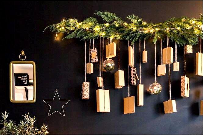 Цепочка на елку — классическое новогоднее украшение