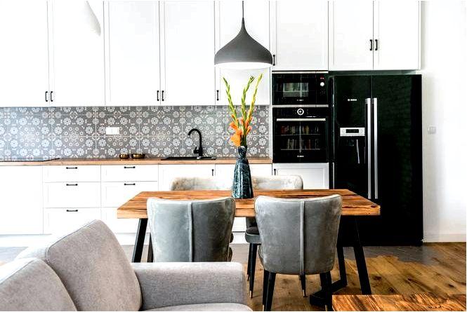 Адна кухня как оформить кухню советы и фото