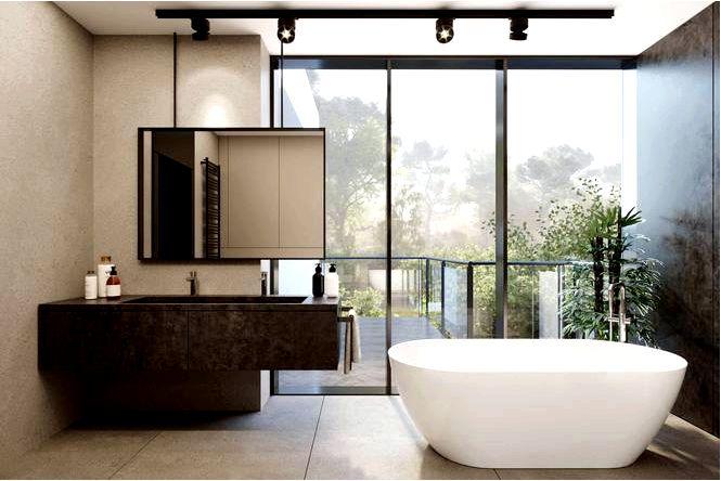 Хорошие ванные комнаты