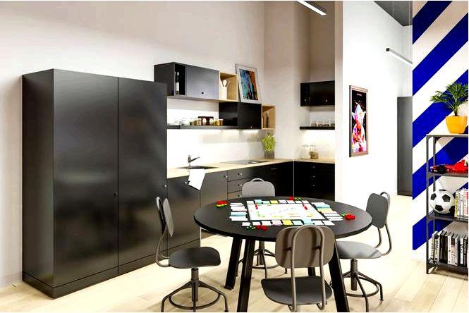 Общежитие не похожее ни на одно другое! современный дизайн интерьера для студентов
