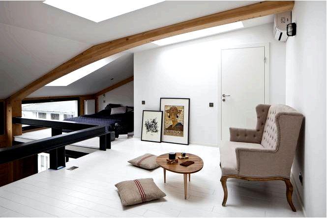 Антресоль в квартире, или как использовать уникальную высоту интерьера