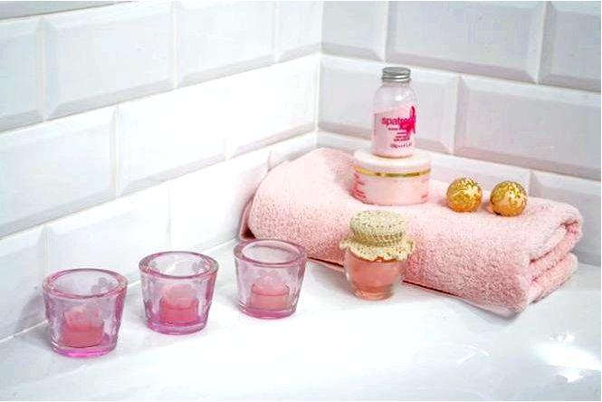 Обустройство ванной комнаты — интерьер как у парижского метро