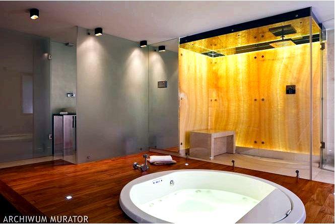 Фото обустройства ванной из натурального камня в ванной