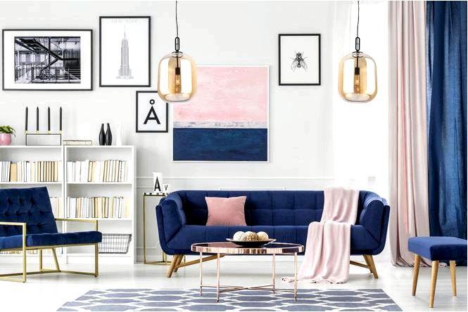 Обустройство стен в гостиной 18 идей модной отделки стен в гостиной