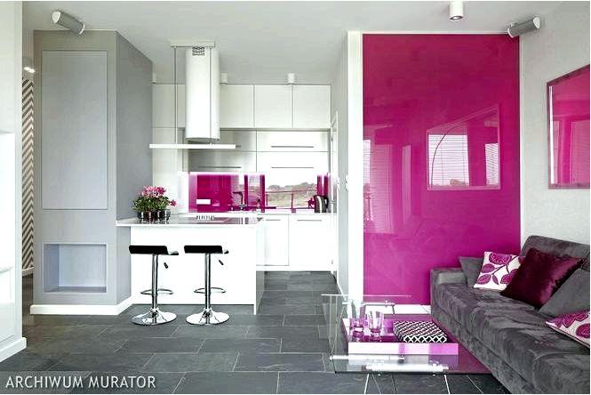 Обустройство кухни — современная кухня в розовом цвете