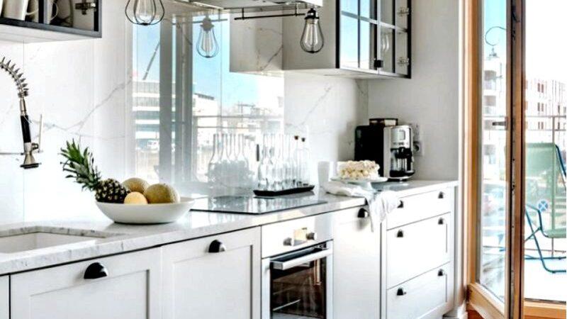 Расположение кухни, открытой для гостиной-лучшее вдохновение