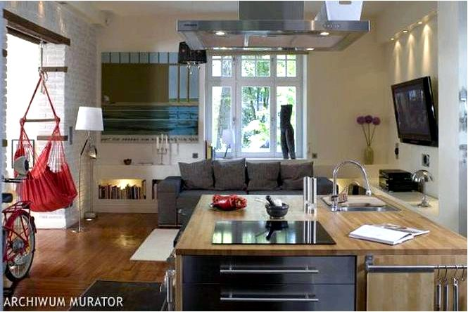 Обустройство кухонного острова на кухне