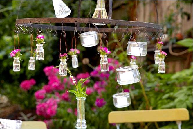 Обустраивая небольшой садик, выбираем растения, мебель и аксессуары