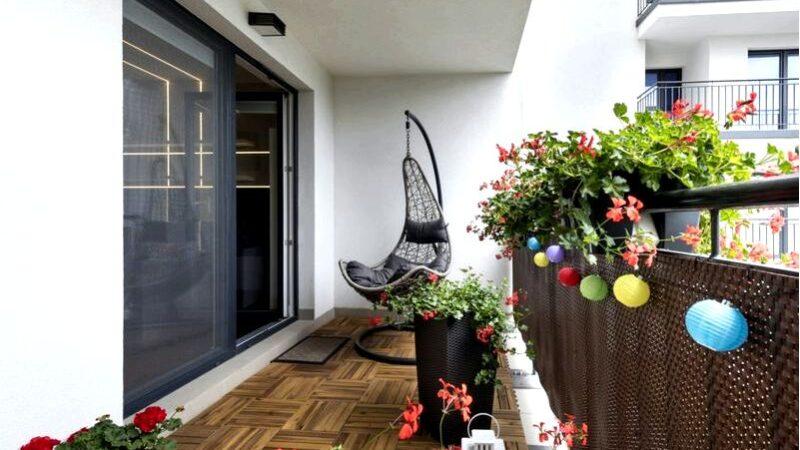 Оформление зимнего сада на балконе