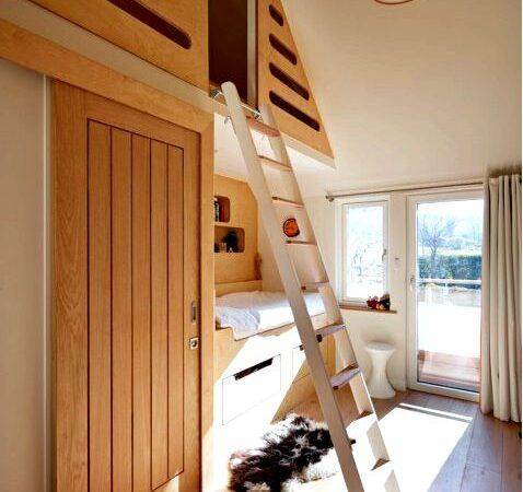 Обустройство комнаты для нескольких детей в блоке это не должно быть