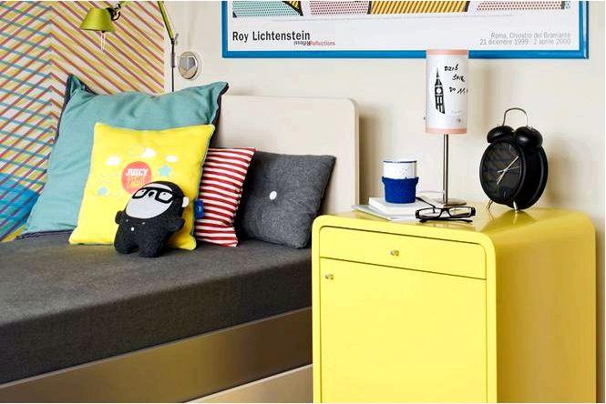 Обустройство молодежной комнаты — игра красками
