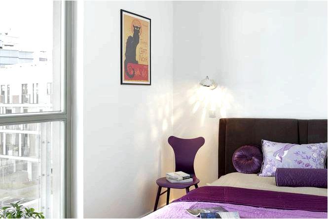 Обустройство спальни в стиле ретро