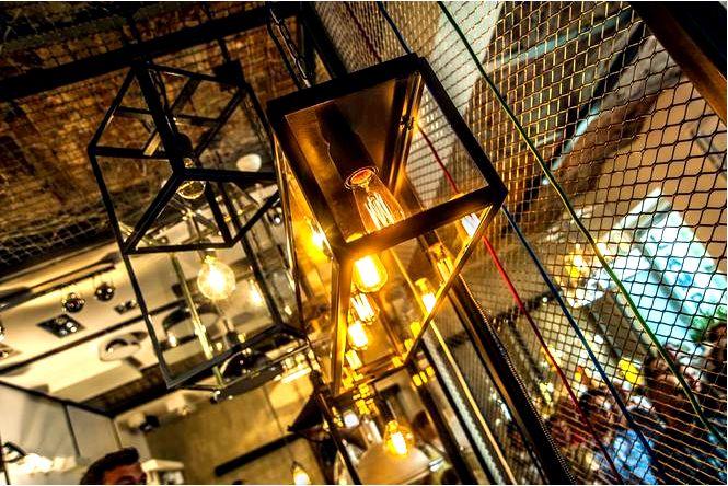Интерьерные оригинальные светильники в индустриальном стиле для польских квартир!