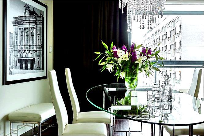 Дизайн интерьера в стиле модерн в квартире ар-деко
