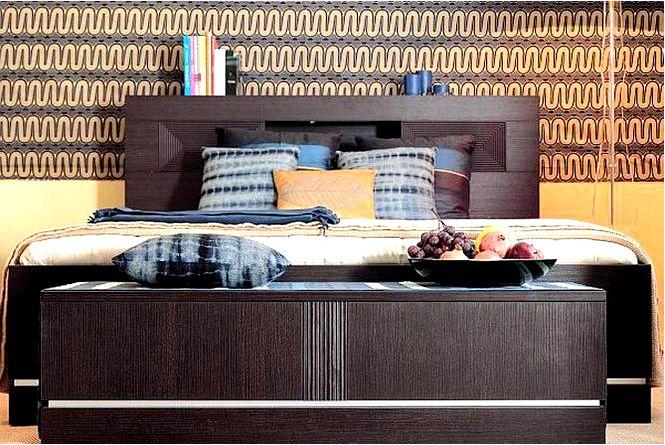 Дизайн интерьера спальня в африканском стиле