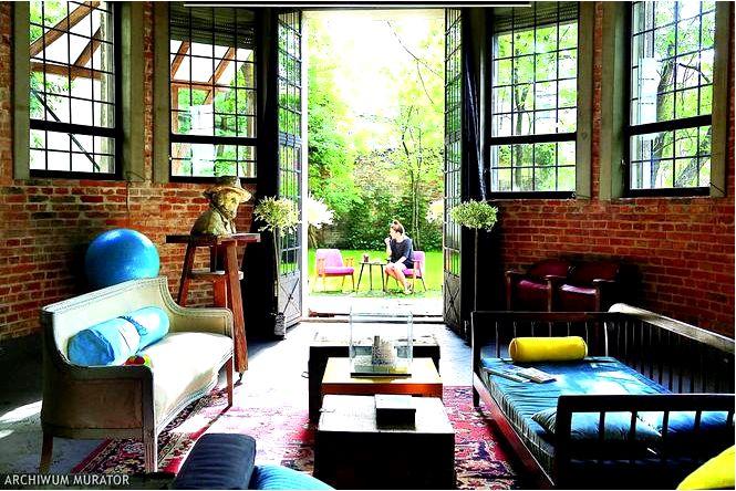 Дизайн интерьера в индустриальном стиле в бывшей мастерской художника