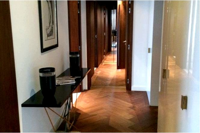 Дизайн интерьера złota 44 дизайн интерьера, подчеркивающий вид за окном!
