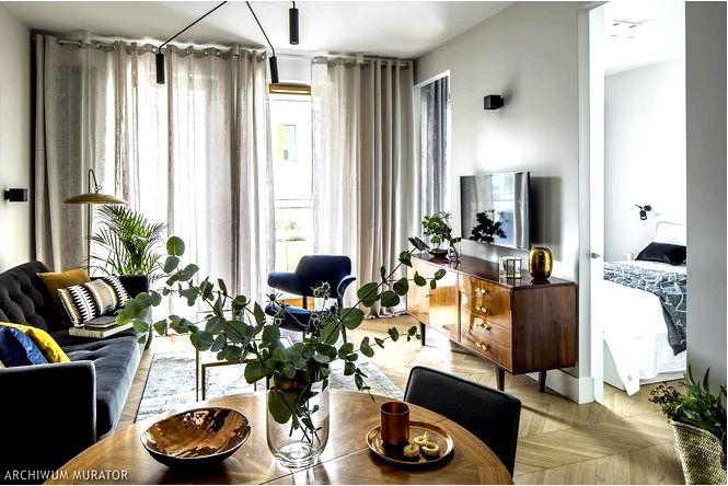 Оконные устройства в гостиной какими шторами и шторами украсить окно в гостиной фото