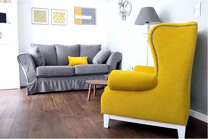 Метаморфозы аранжировки — четыре интерьера, одна комната, три цвета