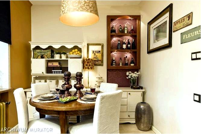 Обставляем маленькие кухни в кухне в колониальном стиле