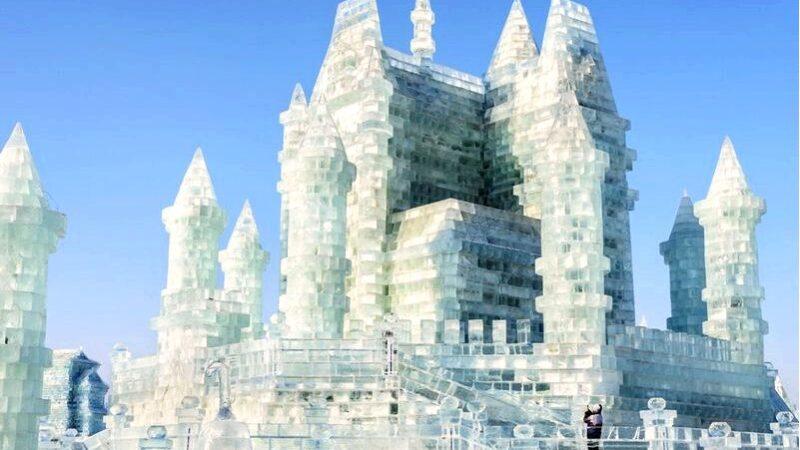 Зимняя архитектура, то есть необычные здания с
