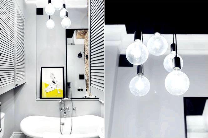 Лампы на кабелях — модное внутреннее освещение