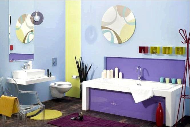Азиенка разработала 3 идеи для одной ванной комнаты