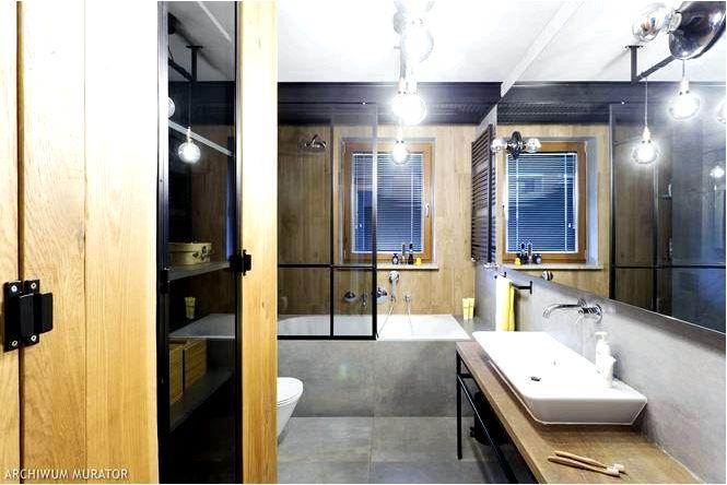 Ванная комната с идеей