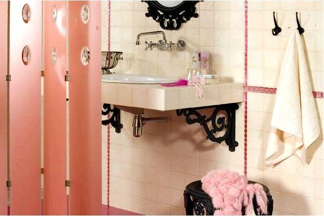 Ванная комната с кристаллами