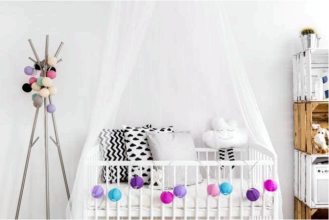 Навес для ребенка — договоренности идей в детскую комнату