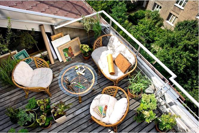 Балкон весной как организовать это в 2014 году