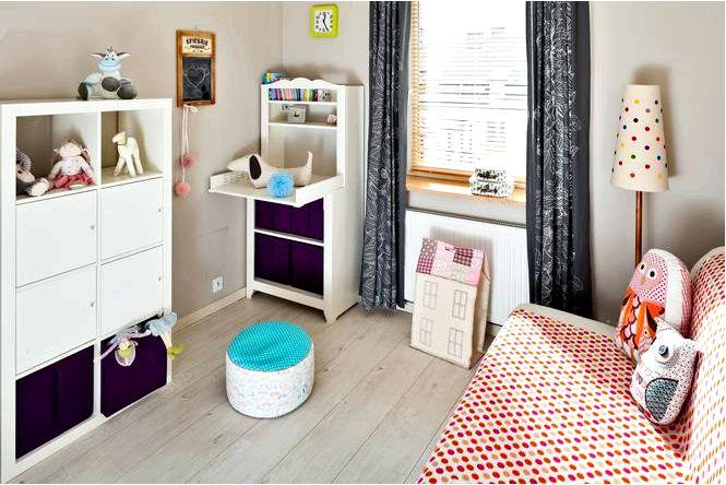 Игровая со спальней — комната для девочки, которая растет вместе с ребенком