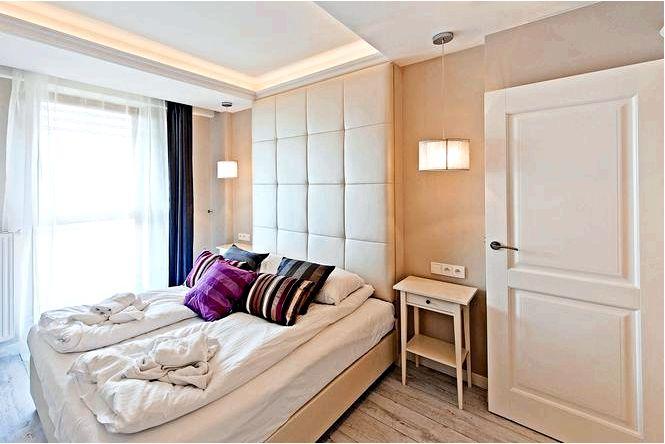 Бежевая спальня чистая роскошь!