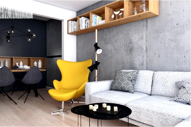 Декоративный бетон 16 примеров использования бетона в интерьере