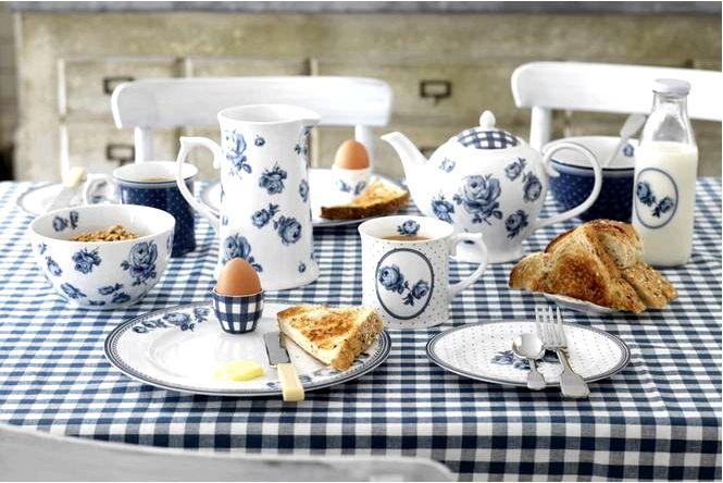 Белый и синий фарфор и керамика для скандинавских, современных и других интерьеров!