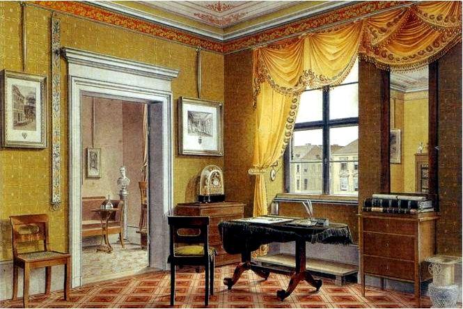 Стильная мебель и антиквариат в стиле бидермейер