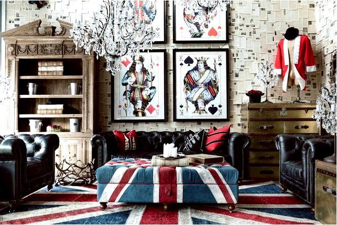 Дизайн британского флага юнион джек, телефонные будки и многое другое