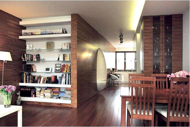 Вдохновение коричневых стен