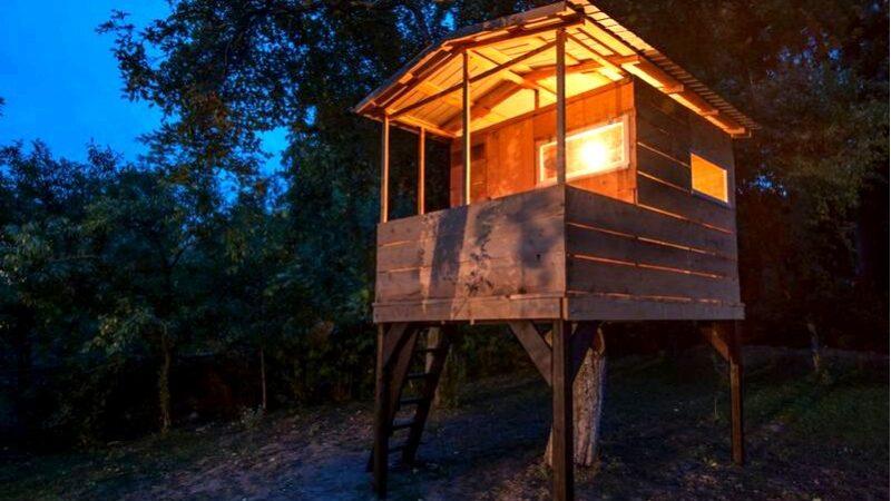 Строить дом на дереве, или как воплотить детские мечты в жизнь