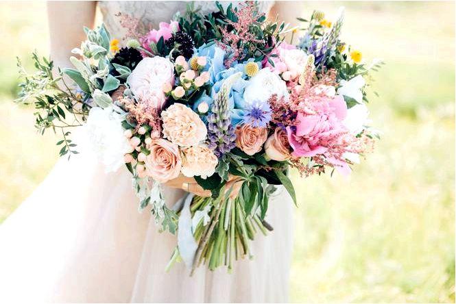 Свадебный букет своими руками! видео как сделать букет на свадьбу
