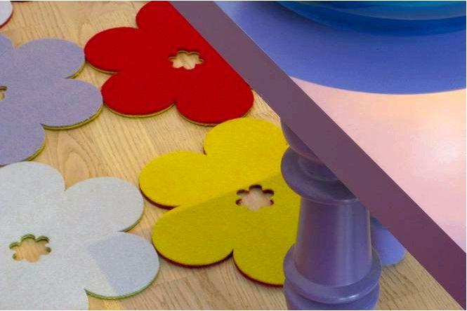 Цветочные цветочные узоры в интерьере
