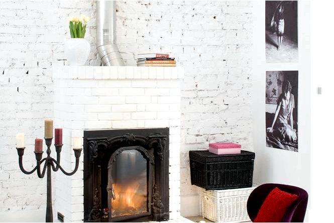 Кирпич в квартире, как использовать необработанный кирпич на стену советы, фото, вдохновение