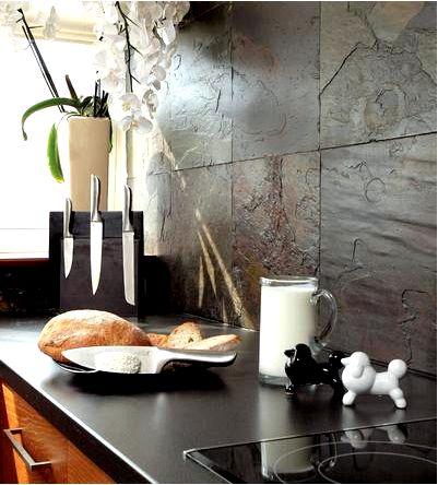 Вы хотите, чтобы на кухне был сланец. узнайте, что вам нужно знать о сланцевом камне